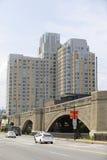 Avalon North Point-Wohnungen Boston Stockbild