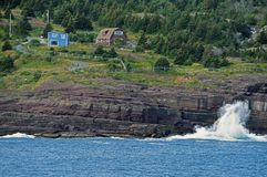 Avalon półwysep w Kanada fotografia royalty free