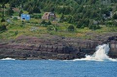 Avalon Peninsula em Canadá Fotografia de Stock Royalty Free