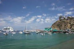 Avalon Pier Santa Catalina Island Stock Photography