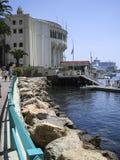Avalon schronienie, Catalina wyspa, Kalifornia obrazy stock