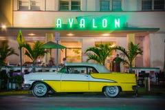 Avalon South Beach Miami Stockbild