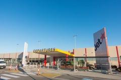 Avalonluchthaven, Melbourne Australië Stock Foto's
