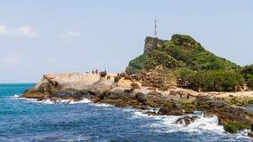 Avampaese marino stretto Immagini Stock Libere da Diritti