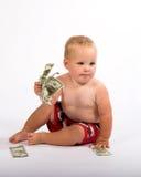 Avanço de dinheiro Fotografia de Stock Royalty Free