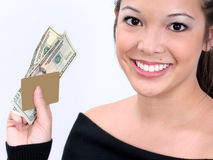 Avanço de dinheiro Imagem de Stock Royalty Free