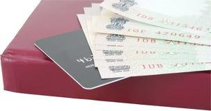 Avance de carte de crédit Photographie stock libre de droits