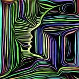 Avance de líneas internas libre illustration