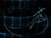 Avance de la géométrie Photo libre de droits