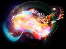 Avance de las nebulosas del diseño Imagenes de archivo