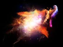 Avance de las nebulosas del diseño Fotografía de archivo libre de regalías