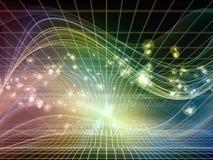 Avance de los reinos del fractal Imagen de archivo
