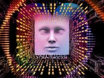 Avance del ser humano estupendo AI Fotos de archivo