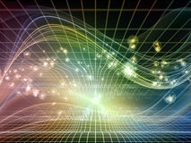 Avance des royaumes de fractale Image stock