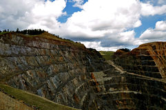 Avance le Dakota du Sud de mine de Homestake images stock