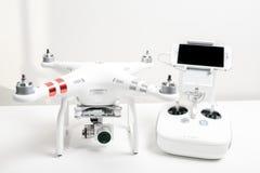Avancerad surrquadrocopterDji fantom 3 Royaltyfria Foton