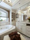 Avanguardia di progettazione del bagno Immagini Stock