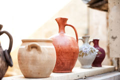 Avanos pottery Turkey Royalty Free Stock Images