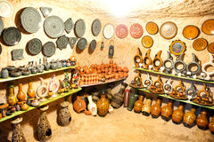 Avanos pottery workshop Stock Image
