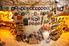 Avanos pottery workshop Stock Images