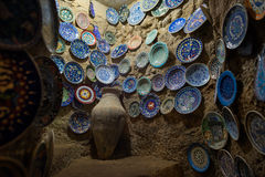 Avanos pottery workshop Royalty Free Stock Photos