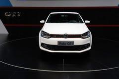 Avant blanc de gti de polo de VW Images libres de droits