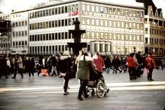 Avant-cour Cologne de dôme Photo stock