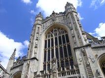 Avant d'abbaye de Bath Images libres de droits