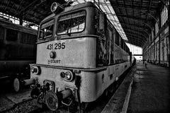 Avant d'un train photos stock