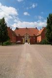 Avant de château de Krapperup Images libres de droits