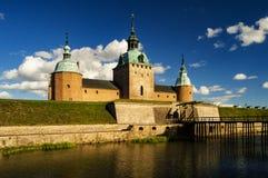 Avant de château de Kalmar Photographie stock libre de droits