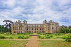 Avant de Chambre et de jardin d'extrémité d'Audley dans Essex en Angleterre Photographie stock libre de droits