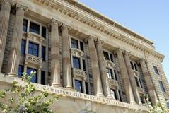 Avant de Commonwealth Bank de l'Australie, Perth images libres de droits