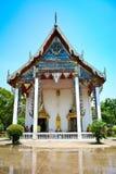 Avant de l'église, Thaïlande Image stock