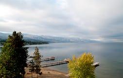 Avant de lac early Morning Photos libres de droits