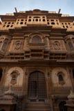Avant de manoir de Nathmal Ki Haveli photos libres de droits