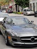Avant de Mercedes-Benz SLS AMG Image libre de droits