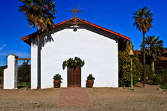 Avant de mission Nuestra Senora de la Soledad image stock