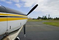 Avant de petits aéronefs Photographie stock libre de droits