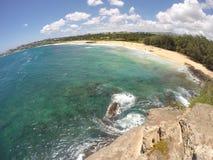 Avant de plage Image stock