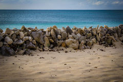 Avant de plage photo libre de droits