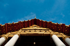 Avant de temple de Mable photo stock
