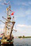 Avant de vieux bateau de navigation Photo stock