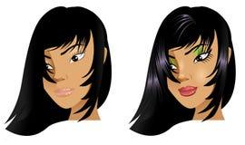 Avant et après Photo libre de droits