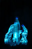 Avant-garde. Bottles with waters Stock Photo