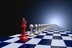 Avant-garde (chess army) Royalty Free Stock Photos