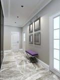 Avant-garde entrance hall design Stock Photography