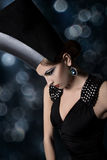 Avant-garde fashion royalty free stock photography