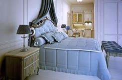 Avant garde studio apartment trend. 3D render stock photo
