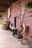 Avant historique de grange Image libre de droits